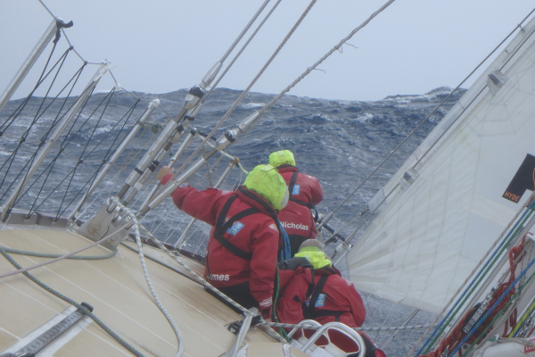 Clipper race to China. Photo Clipper Ventures.