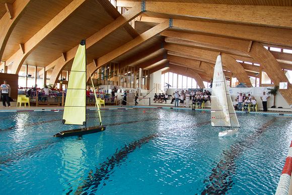 Sailing in the Olympic pool. Photo © GYC Sebastian Devenish.