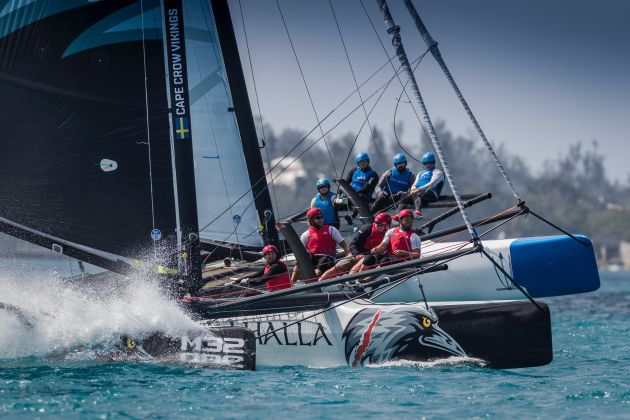 Cape Crow Vikings (foreground) and Convexity  Photo: Ian Roman/M32.