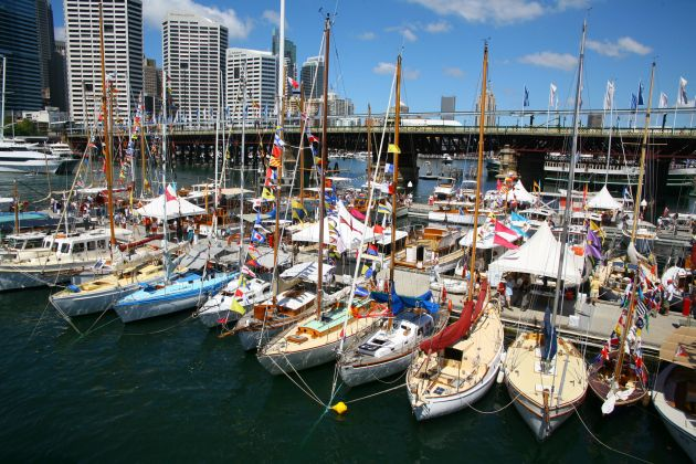 Photo Wooden Boat Festival.