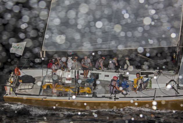 China Sea Race 2016 Free Fire. Photo Rolex / Daniel Forster