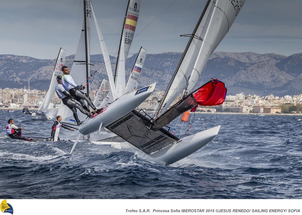 Flying in Palma. Photo Jesus Renedo/Sailing Energy/SOFIA.