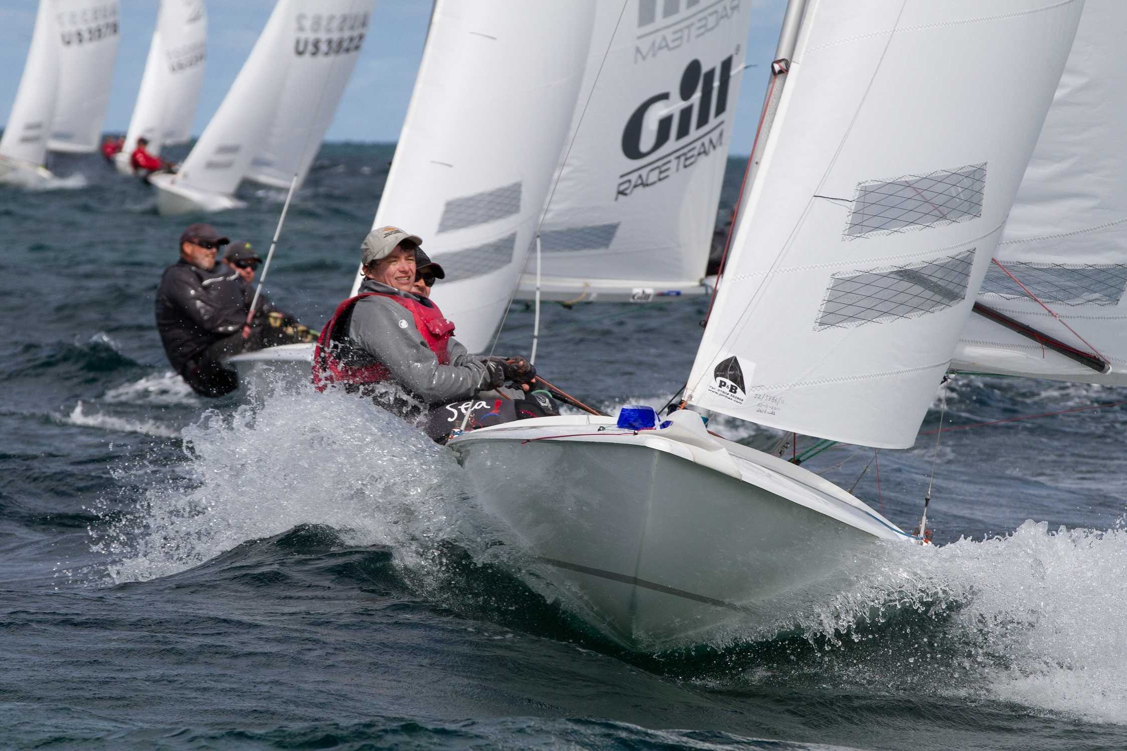 Defending champions Nick and Janet Jerwood won the second last race of the series ahead of eventual winners