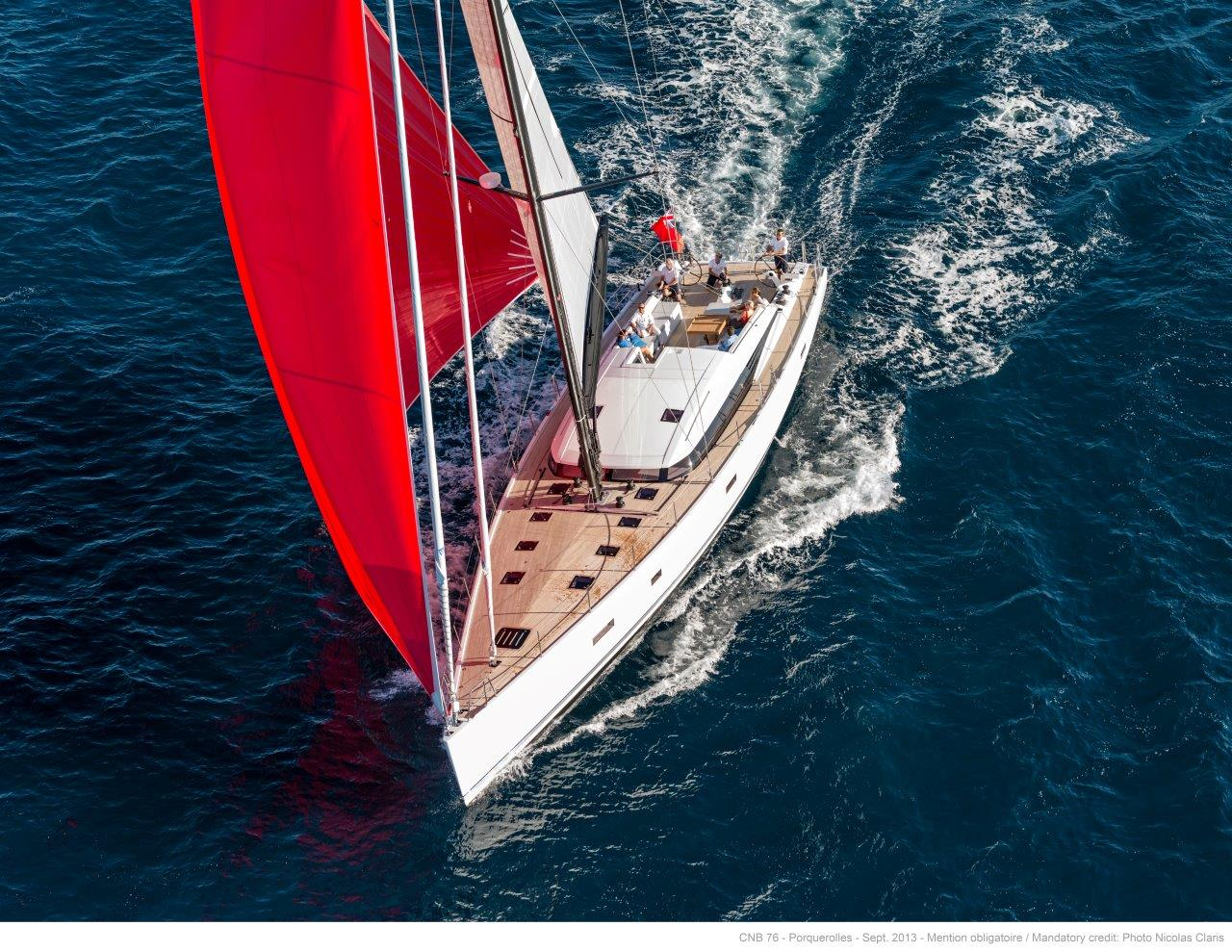 Sydney yachtsman Ervin Vidor has shipped his recently launched 23 metre yacht