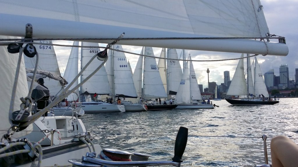 Winter Series fleets on Saturday's on Sydney Harbour are expected to between 70 and 90 boats. Photo RSYS.