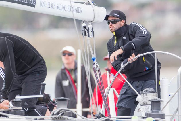 Taylor Canfield at the Congressional Cup. Photo Ian Roman/WMRT.