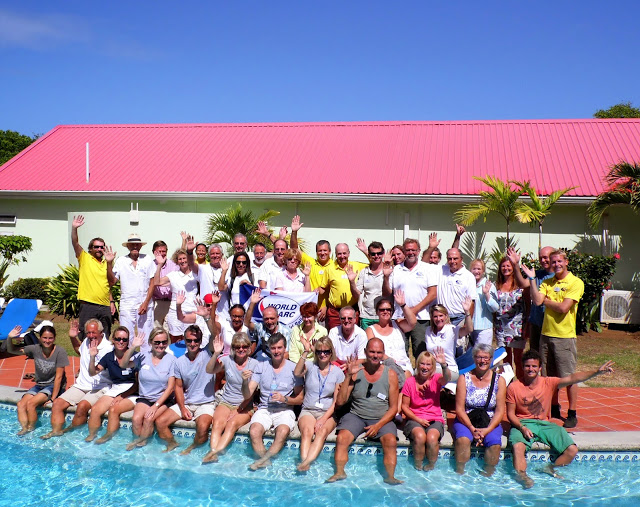 World ARC 2015 - Crew picture in Saint Lucia © WCC.