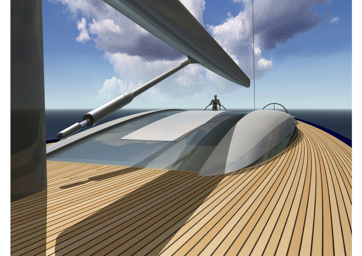 Futuristic superstructure from Philippe Briand.