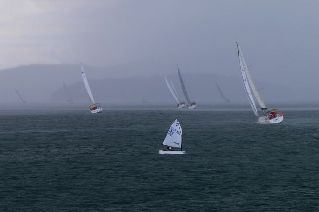 Commodore's Cup day 3 weather. Photo Mark Rothfield