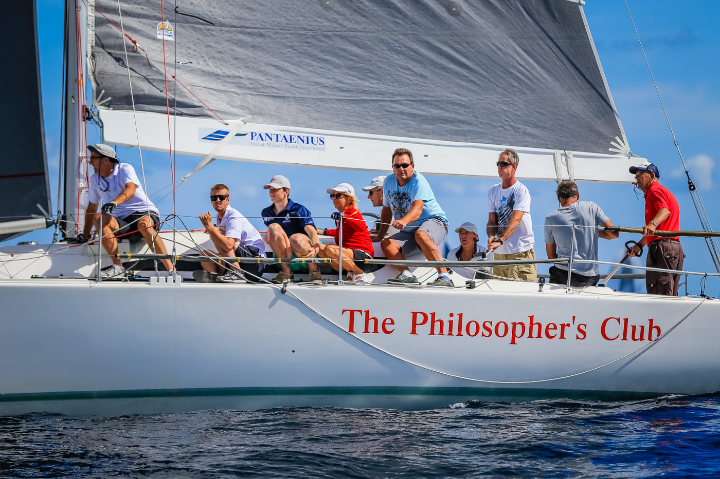 The Philosopher's Club wins the HMRI Cup. Photo Saltwater Images.