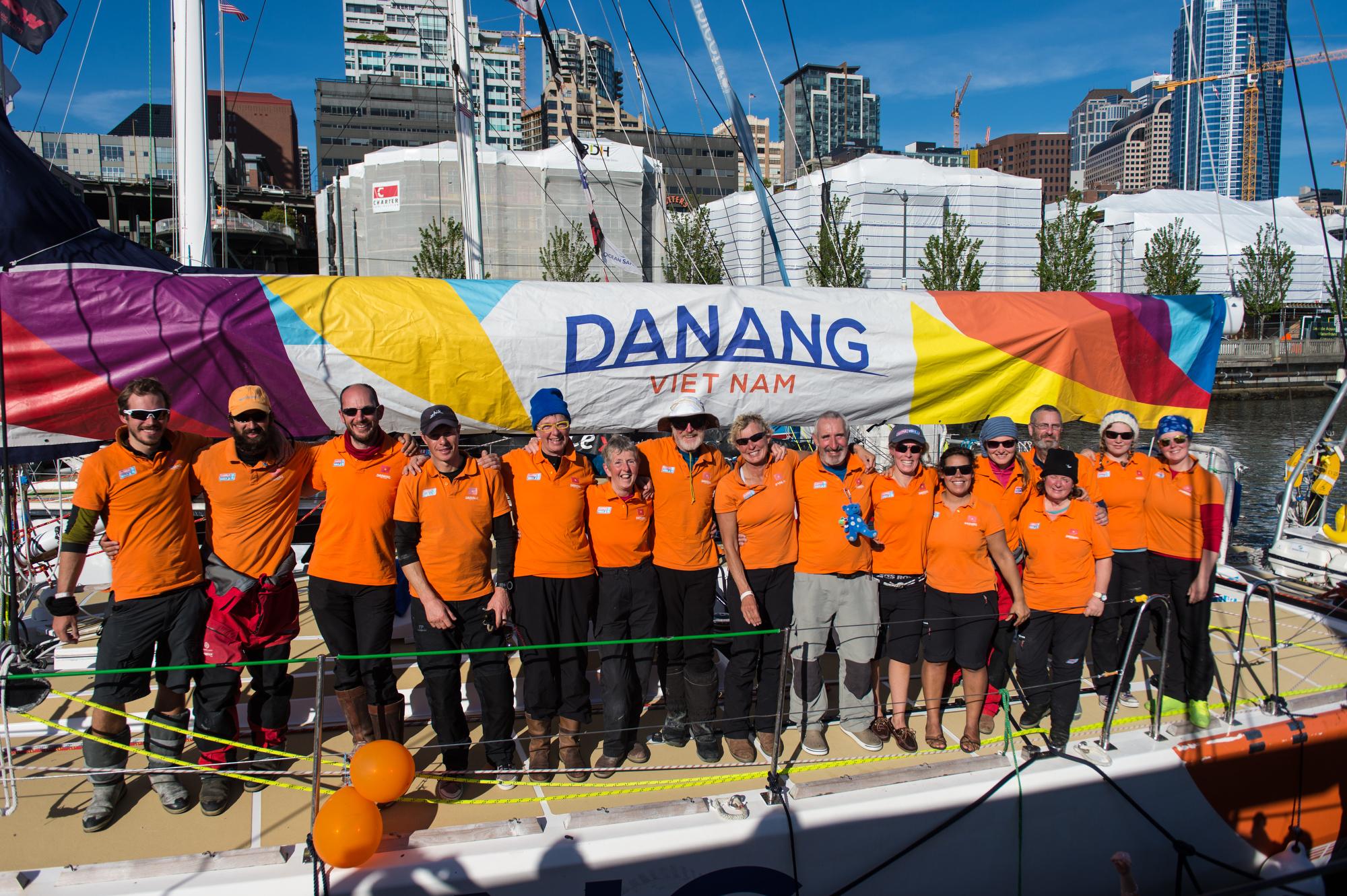 Da Nang Vietnam arrives in Seattle. Clipper 2016