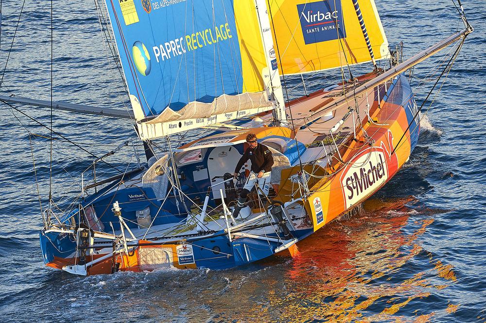 World class skipper Jean-Pierre Dick will skipper St Michel-Virbac in The Transat bakerly 2016. Photo Y.Zedda/StMichel-Virbac Sailing Team.