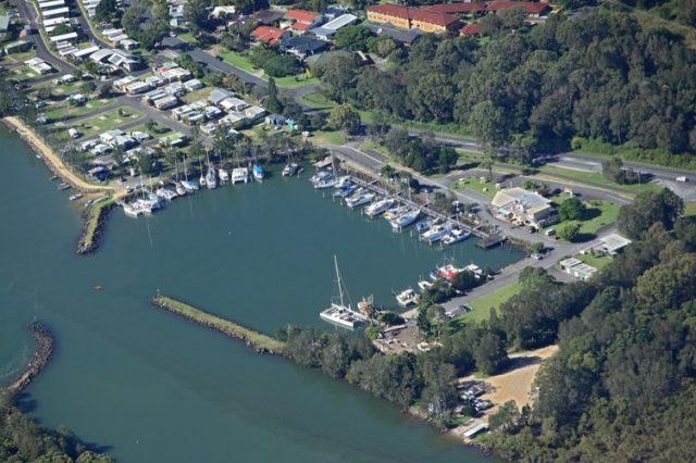Brunswick Heads marina