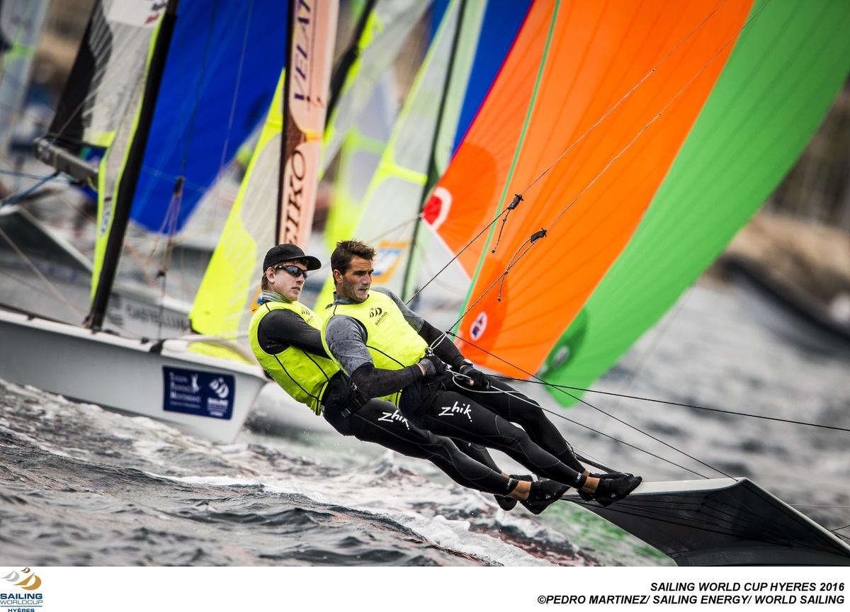 Burling and Tuke take the win in Hyeres. Photo Pedro Martinez/Sailing Energy/World Sailing.