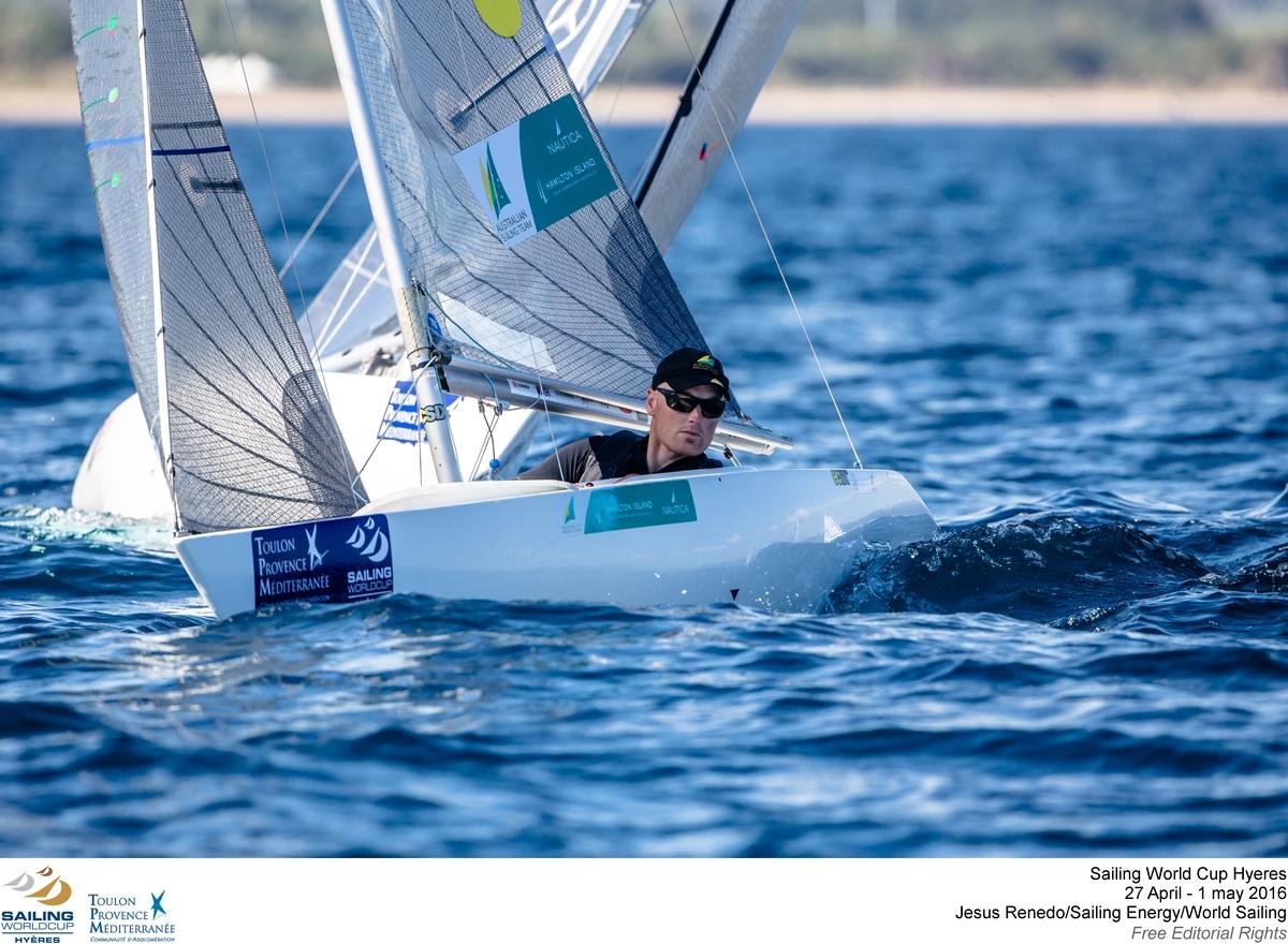 Matt Bugg at the Sailing World Cup Hyeres. Photo Jesus Renedo/Sailing Energy/World Sailing.