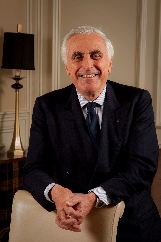 World Sailing President Carlo Croce.