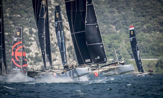 Argo showing how it's done on Lake Garda. Photo Loris van Siebenthal.