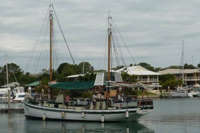 The Anniki was a pearling lugger before it became a tourist vessel. (Suppled: TripAdvisor)