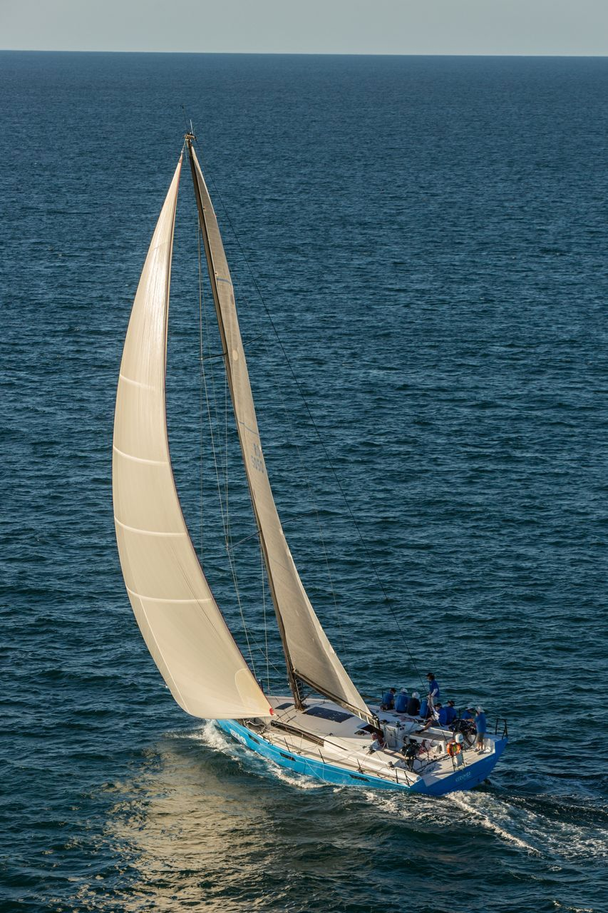 Kermuba is one of the first entries in the Round Australia Yacht Race. Photo supplied.