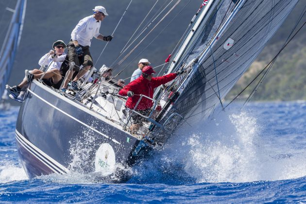 Triple Lindy competing at the Rolex Swan Cup Caribbean - credit ROLEX