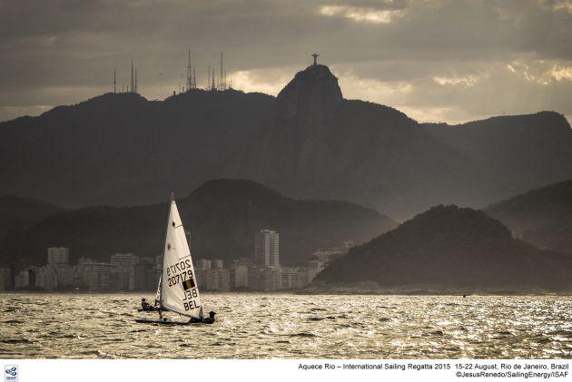 Evi Van Acker at Rio. Photo Jesus Renedo/Sailing Energy