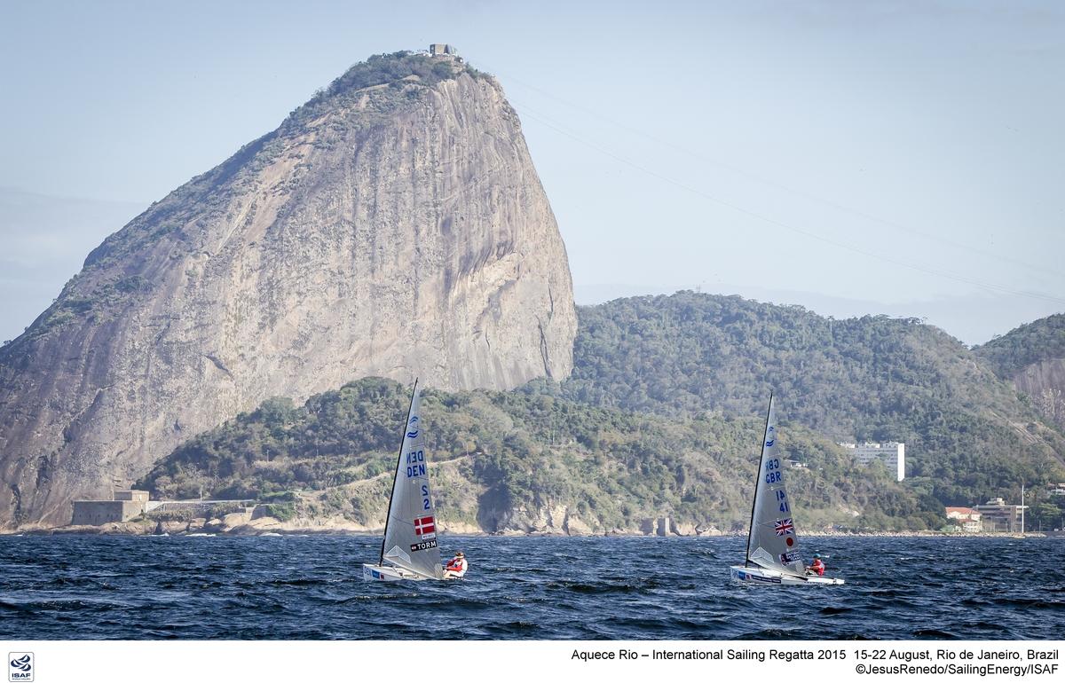 Jonas Hogh Christensen racing in Rio. Photo Jesus Renedo/Sailing Energy/World Sailing.