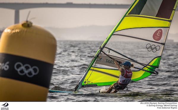 Flavia Tartaglini (ITA). Photo Sailing Energy/World Sailing.