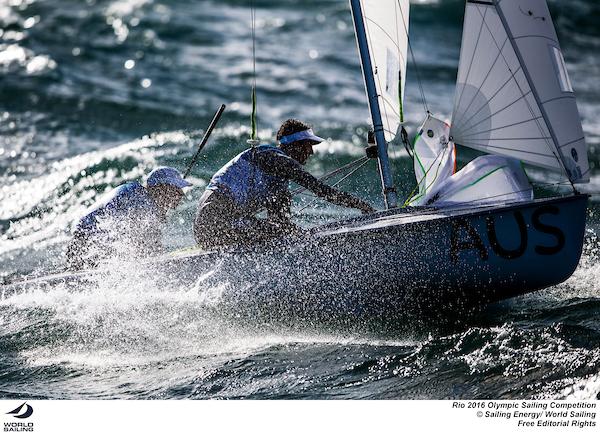 Matt Belcher and Will Ryan at Rio 2016. Photo Sailing Energy/World Sailing.