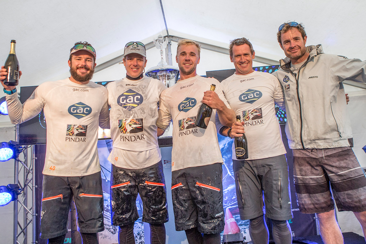 GAC Pindar wins the M32 Series in Denmark on a countback. Photo M32 Media.