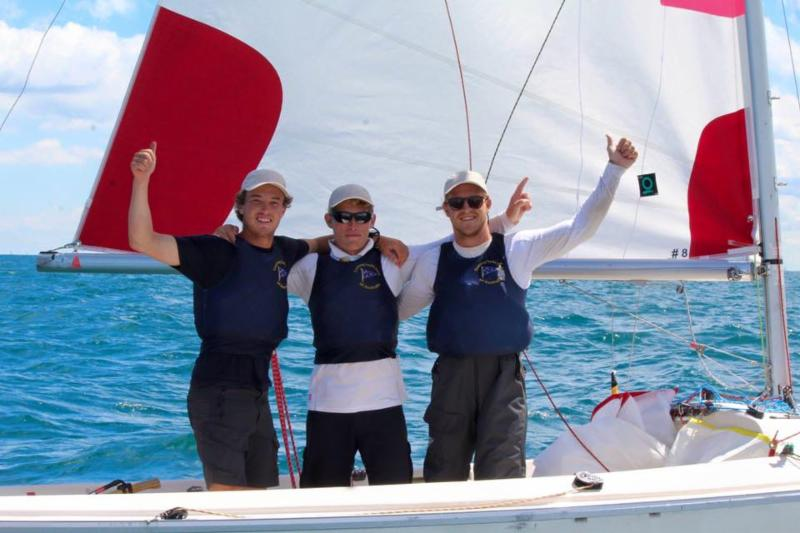 Down Under Sailing wins the Chicago Grand Slam. Photo CGS Media.
