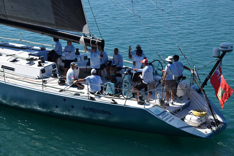 Antipodes in the Darwin to Ambon Race.