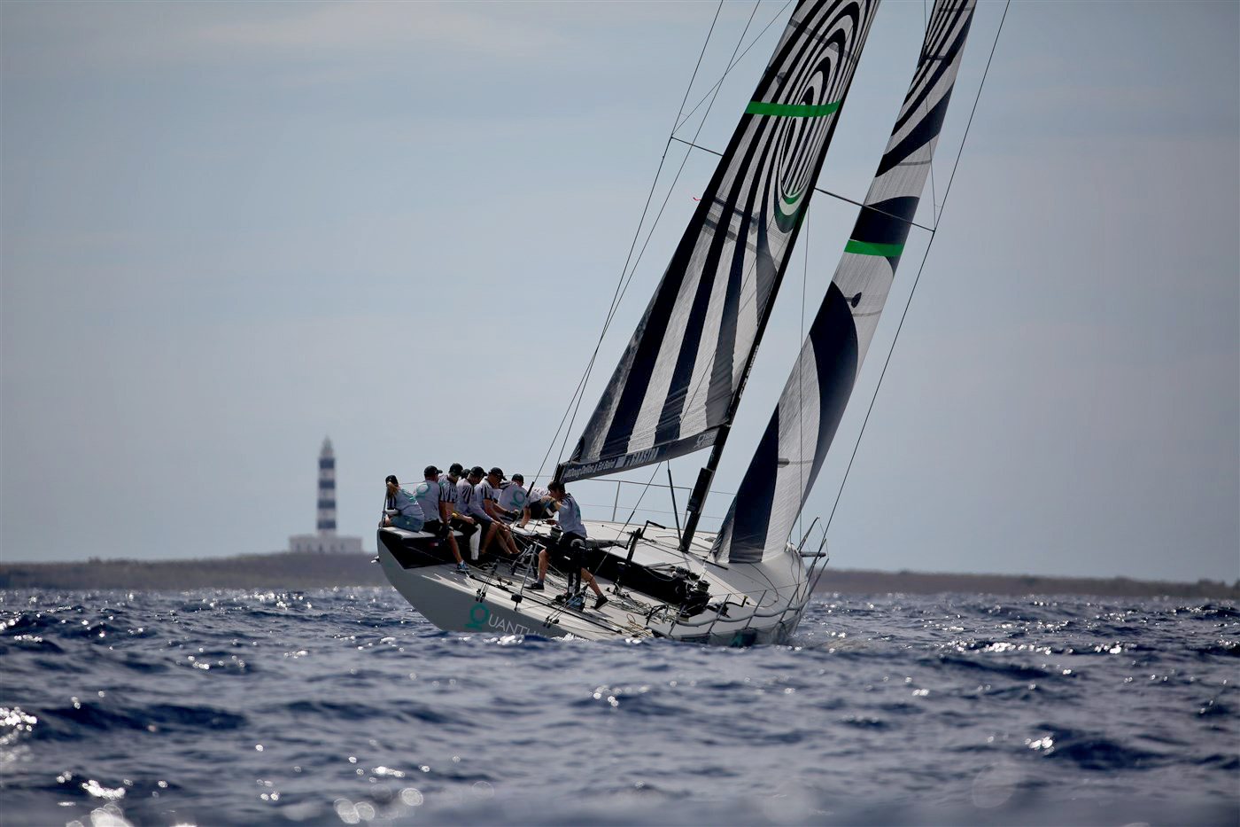 Quantum Racing at the TP52 Worlds. Photo Max Ranchi.