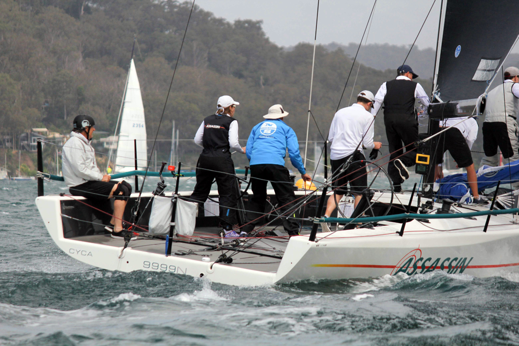 MC38 Summer Champs on Pittwater. Photo Stephen Collopy/RPAYC.