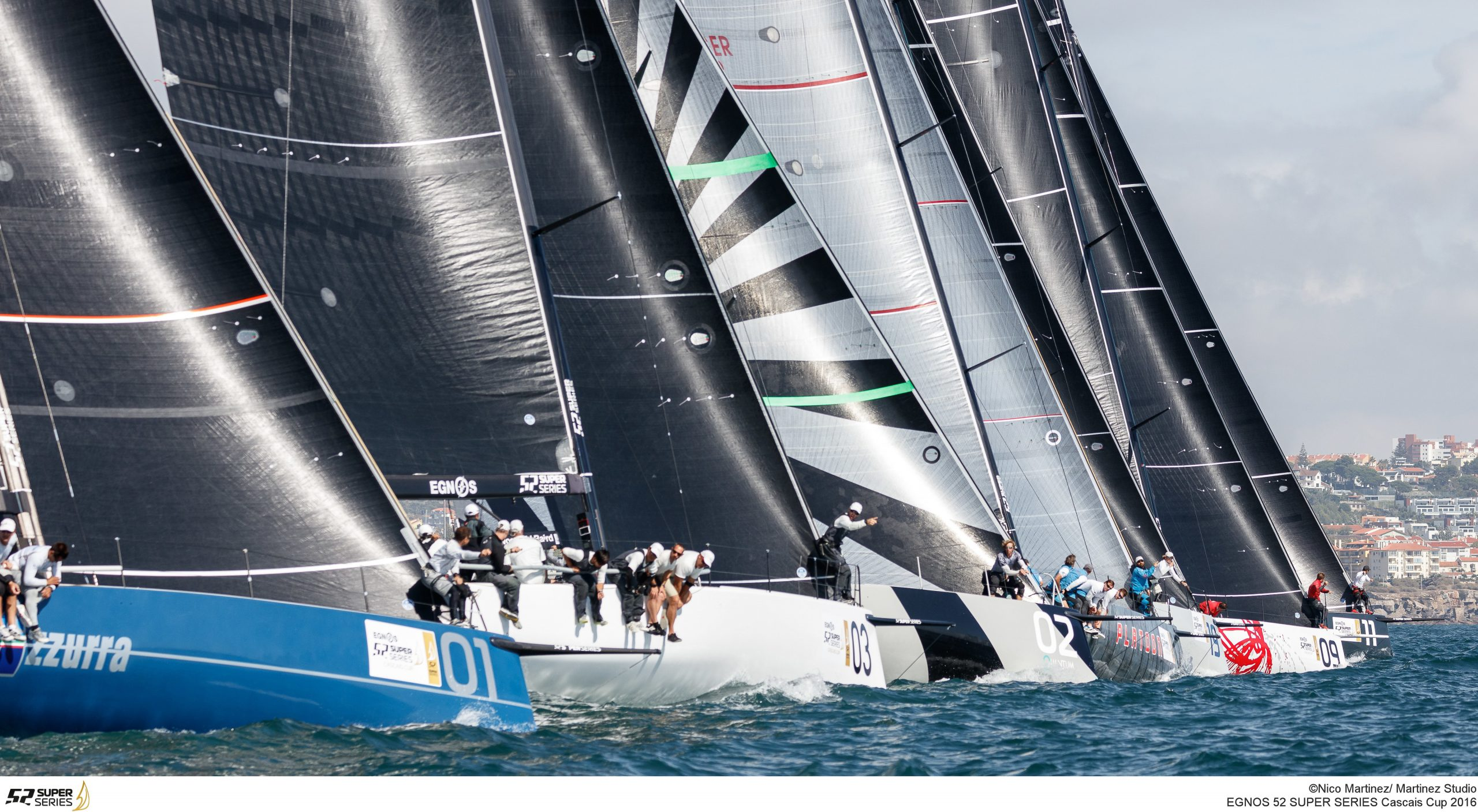 The final day of racing at the Cascais Cup. Photo Nico Martinez / Martinez Studio.