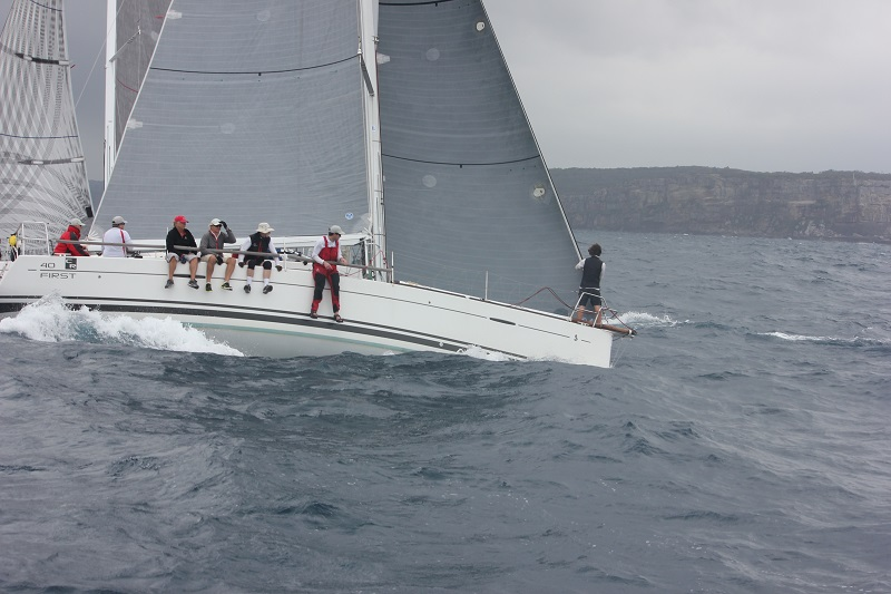 JustADash away quickly at the start. Photo MHYC.