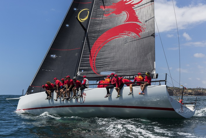 Team Beau Geste during the CYCA Trophy Series. Photo Andrea Francolini.