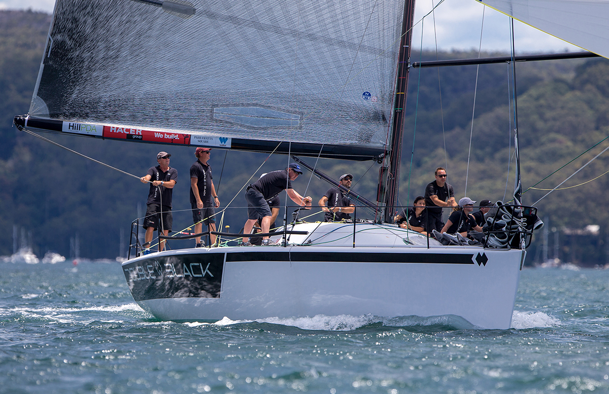 Double Black at Pittwater OD Trophy. Photo Crosbie Lorimer.