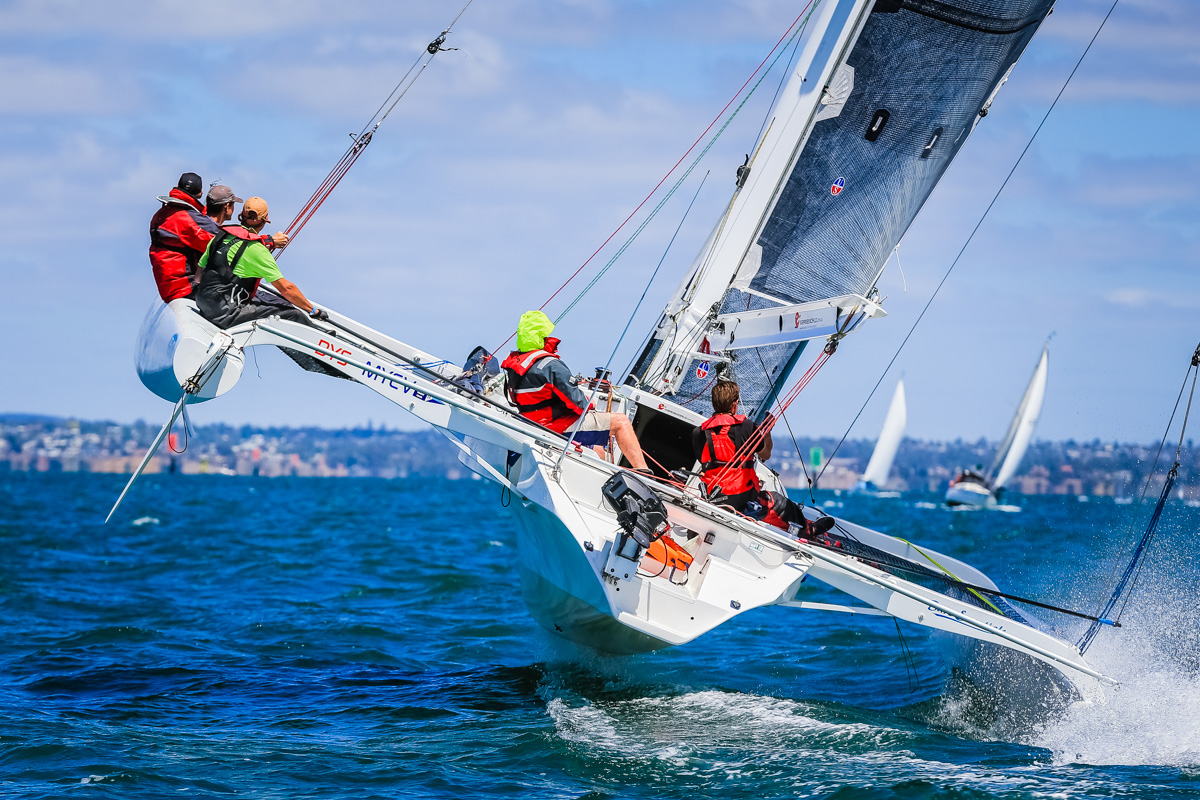 Bare Essentials on Corio Bay. Photo credit Saltwater Images.