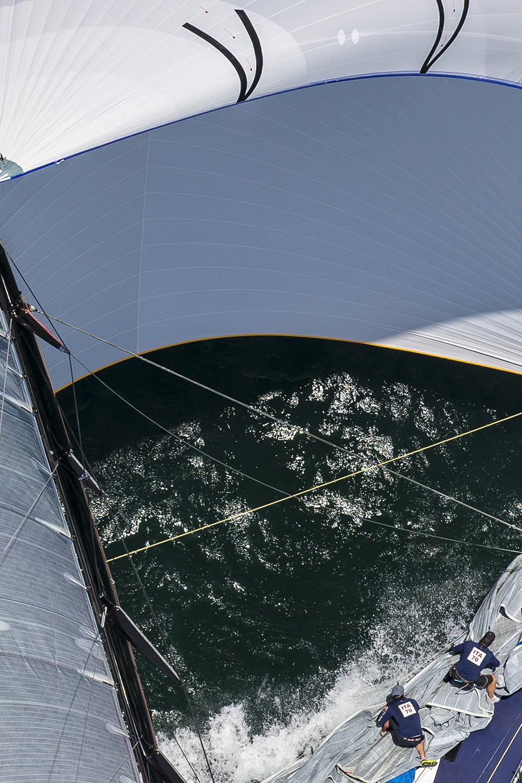 Maserati during the SOLAS Big Boat Challenge. Photo Andrea Francolini.