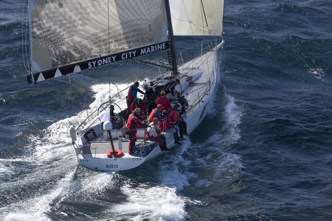 Ragamuffin skippered by Brenton Fischer. Photo Andrea Francolini.