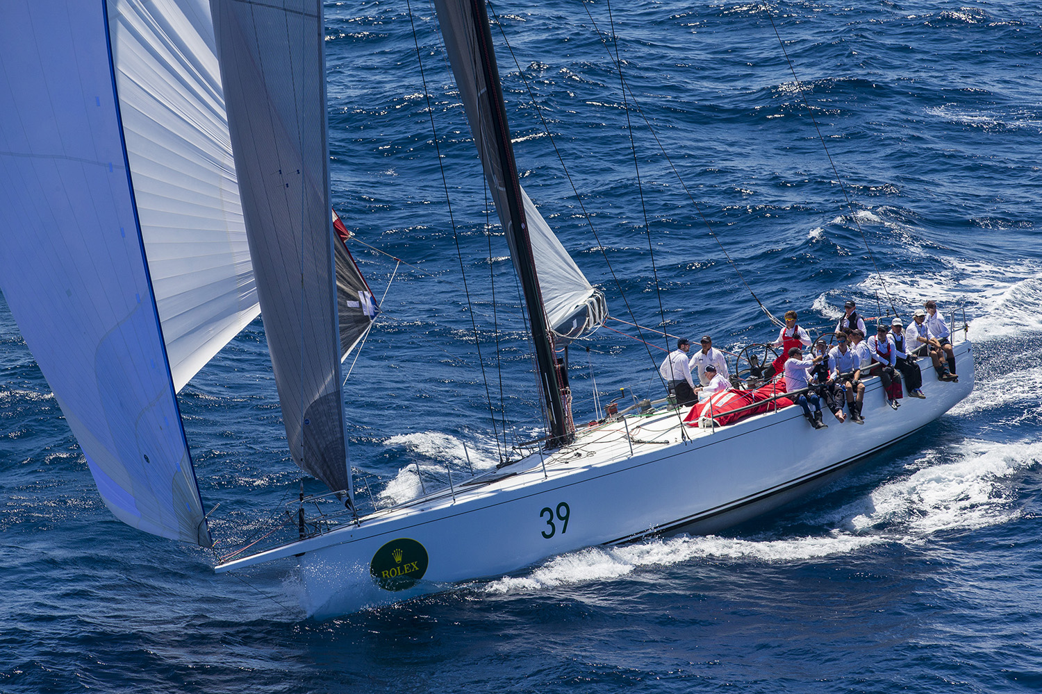 Triton during the Rolex Sydney Hobart Yacht Race. Photo Andrea Francolini.