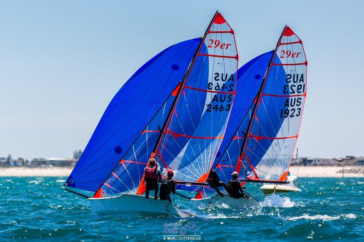 Australian Youth Championship Day 1. Photo credit Beau Outteridge/Australian Sailing.