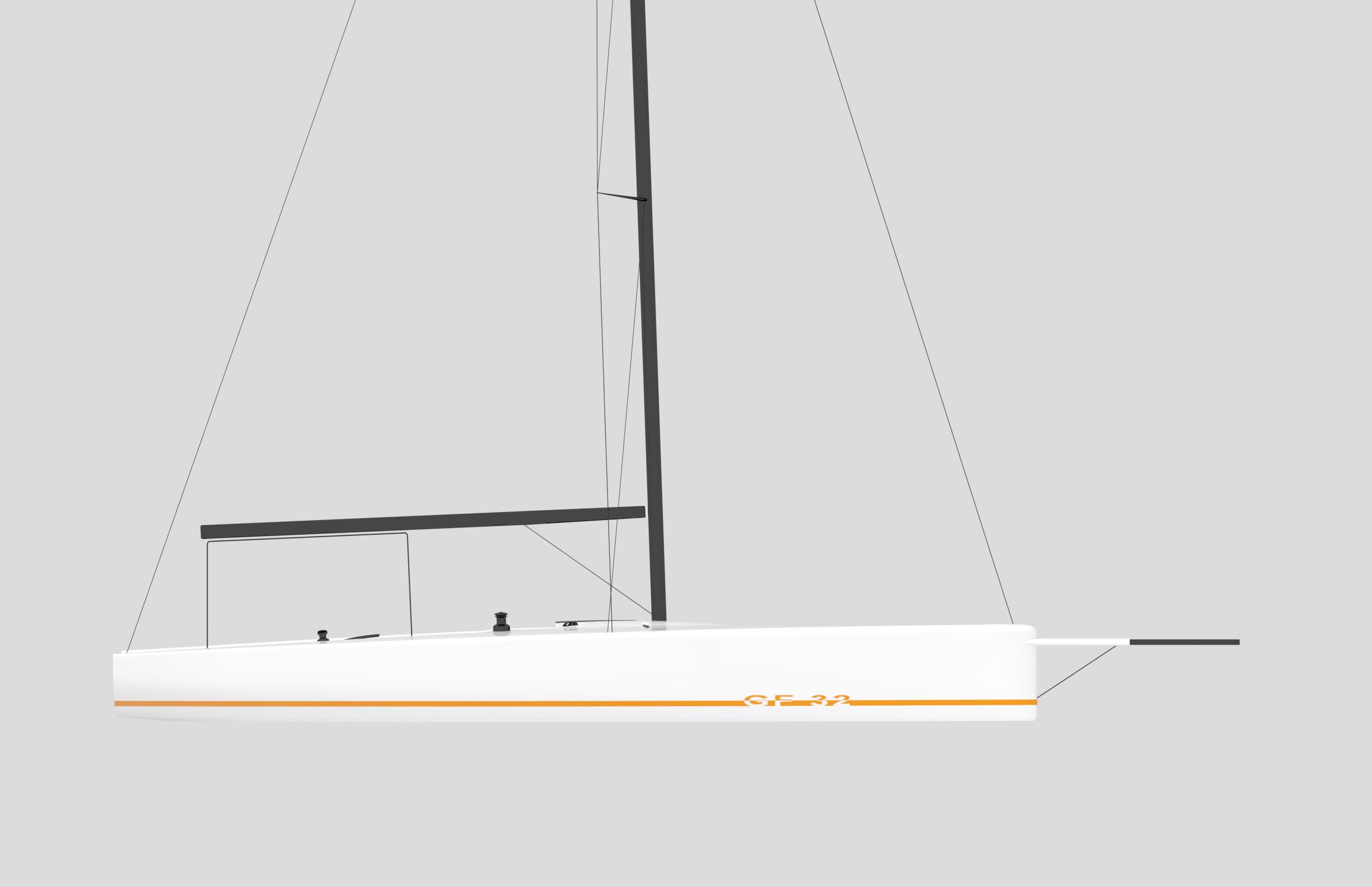 REICHEL/PUGH YACHT DESIGN - X-Treme 32