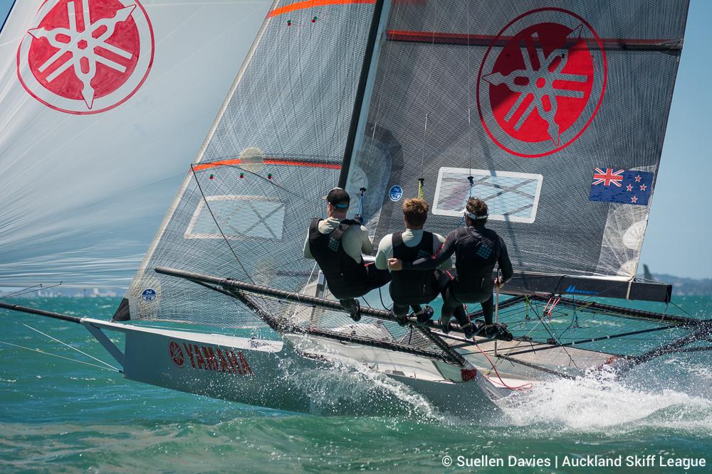 18ft Skiff New Zealand Championship. Photo Suellen Davies/Live Sail Die.