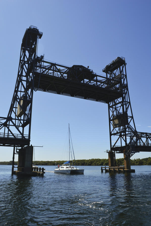 Harwood bridge up.