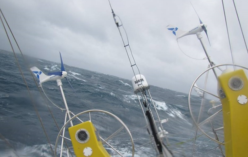 Climate Action Now in the Southern Ocean. Photo Lisa Blair.