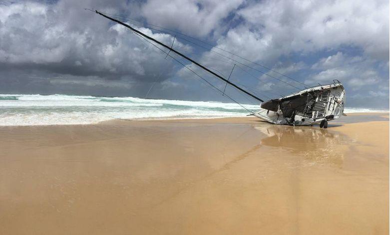 The M3 on the beach near Seal Rocks. Photo supplied.