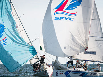 Nations Cup racing. Photo © Barracuda Communication.