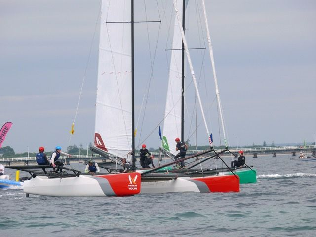 Geographe Bay Cup racing next to the Busselton Jetty. Photo WMRT.