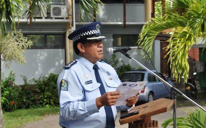 Cook Islands Police Commissioner Maara Tetava. Photo: Cook Islands Police